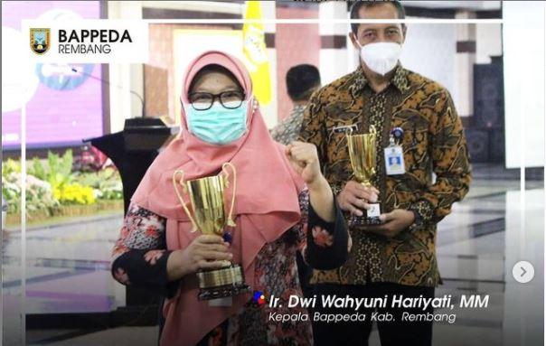 Rembang Sabet Juara III IDSD Jateng 2020