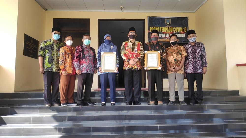 Dua Warga Rembang Peroleh Penghargaan STBN Tingkat Nasional