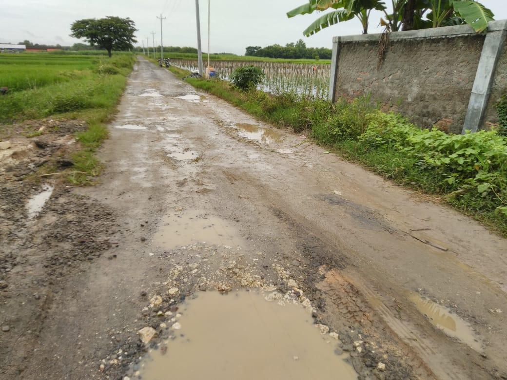 30 Persen Jalan di Rembang Rusak Berat, Perbaikan Terkendala Cuaca