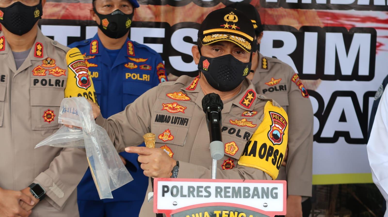 Bukti Kuat Mengarah ke Sumani, Pelaku Pembunuhan Satu Keluarga di Rembang