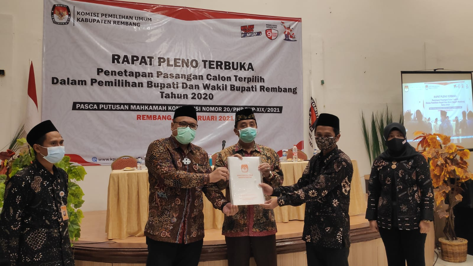 Pelantikan Hafidz-Hanies Pekan Ini di Pendopo Museum Kartini