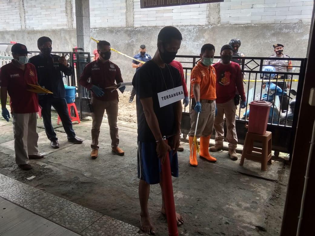 Sumani Lakukan 53 Adegan Rekonstruksi Tragedi Memilukan di Desa Turusgede